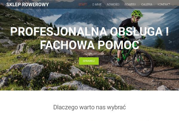 Projekt strony internetowej rowernacodzien.pl